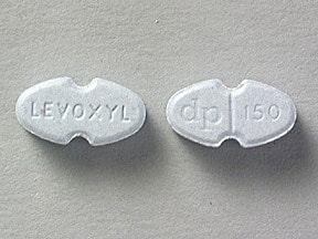 LEVOXYL 150 MCG TABLET