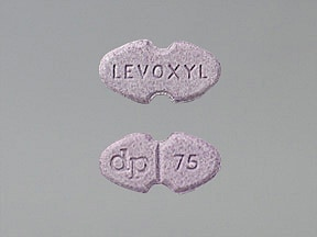 LEVOXYL 75 MCG TABLET