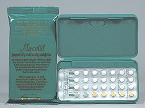 MIRCETTE 28 DAY TABLET