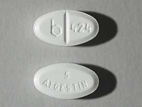 AYGESTIN 5 MG TABLET