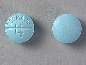 COUMADIN 4 MG TABLET
