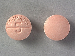 COUMADIN 5 MG TABLET
