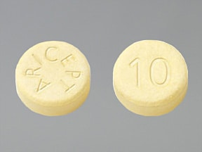 ARICEPT ODT 10 MG TABLET