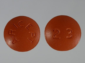 ARICEPT 23 MG TABLET