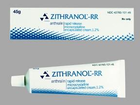 ZITHRANOL-RR 1.2% CREAM