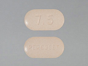 PERCOCET 7.5-500 MG TABLET