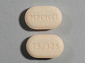 PERCOCET 7.5-325 MG TABLET