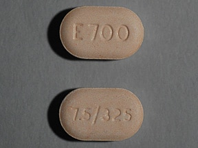 ENDOCET 7.5-325 MG TABLET