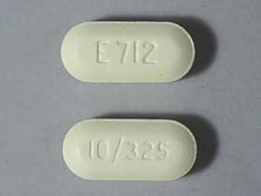 View larger picture endocet 10 325 mg tablet this medicine is a yellow