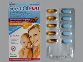 SELECT-OB + DHA PACK