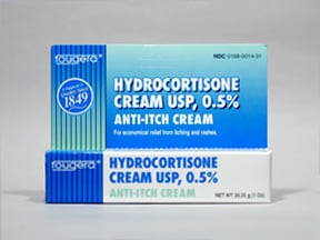 HYDROCORTISONE 0.5% CREAM