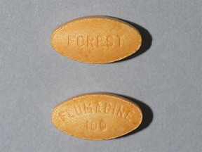 FLUMADINE 100 MG TABLET