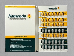 NAMENDA 5-10 MG TITRATION PK