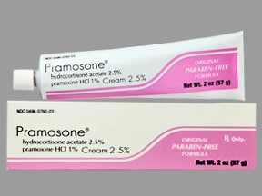 PRAMOSONE 2.5%-1% CREAM