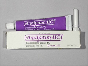 ANALPRAM HC 1% CREAM