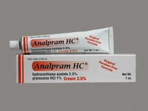 ANALPRAM HC 2.5% CREAM