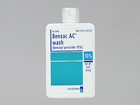 BENZAC AC WASH 10% LIQUID