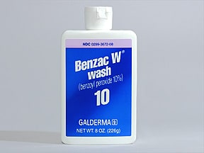 BENZAC W WASH 10% LIQUID