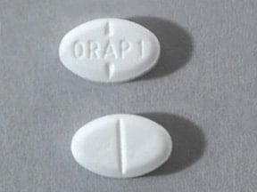 ORAP 1 MG TABLET