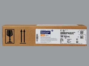 OMNIPAQUE 180 MG/ML VIAL