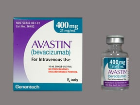 AVASTIN 400 MG/16 ML VIAL