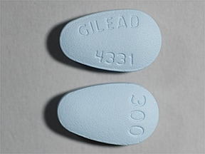 VIREAD 300 MG TABLET