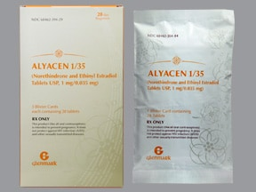 ALYACEN 1-35-28 TABLET