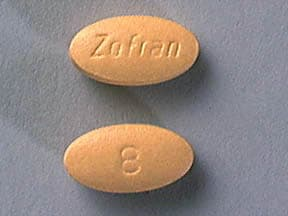 ZOFRAN 8 MG TABLET