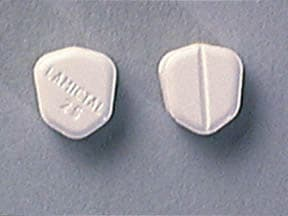 LAMICTAL 25 MG TABLET