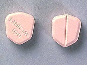 LAMICTAL 100 MG TABLET
