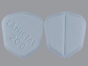 LAMICTAL 200 MG TABLET