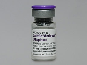 CATHFLO ACTIVASE 2 MG VIAL