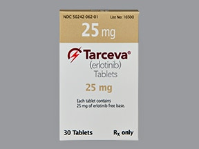 TARCEVA 25 MG TABLET