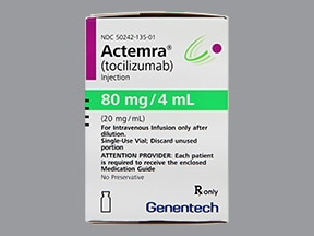 ACTEMRA 80 MG/4 ML VIAL