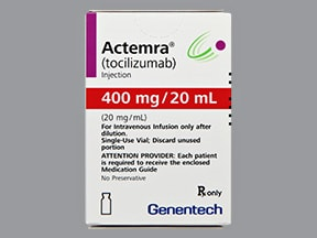 ACTEMRA 400 MG/20 ML VIAL