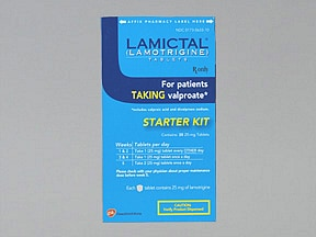 LAMICTAL TAB START KIT (BLUE)