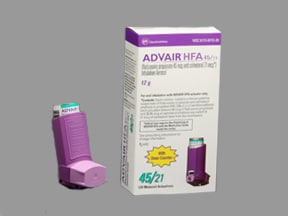 ADVAIR HFA 45-21 MCG INHALER