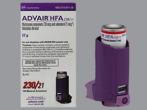 ADVAIR HFA 230-21 MCG INHALER
