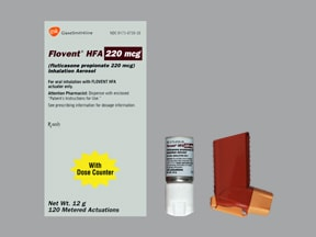 FLOVENT HFA 220 MCG INHALER