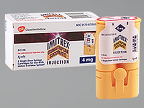 IMITREX 4 MG/0.5 ML CARTRIDGES