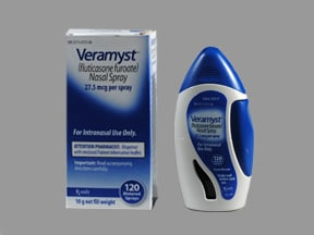 VERAMYST 27.5 MCG NASAL SPRAY