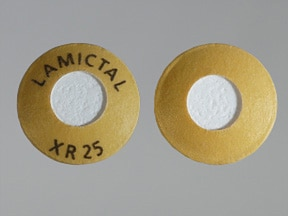 LAMICTAL XR 25 MG TABLET