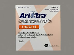 ARIXTRA 5 MG/0.4 ML SYRINGE