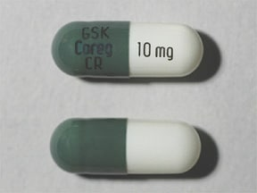 COREG CR 10 MG CAPSULE