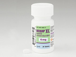 REQUIP XL 6 MG TABLET