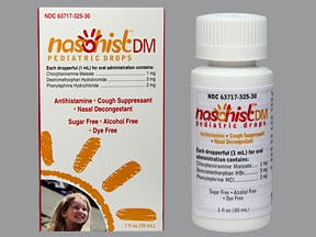 NASOHIST DM PEDIATRIC DROPS