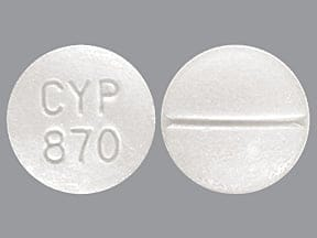 ARBINOXA 4 MG TABLET