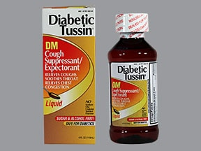 DIABETIC TUSSIN DM LIQUID
