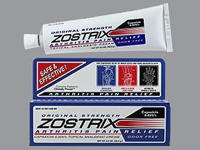 ZOSTRIX 0.025% CREAM