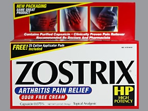 ZOSTRIX HP 0.075% CREAM